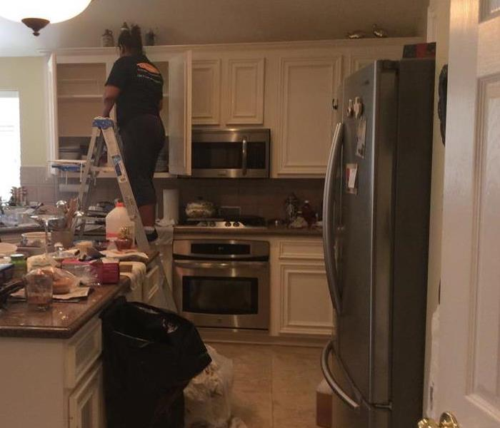 SERVPRO of Bellaire Customer Smoke Damage in Houston, TX Kitchen Before