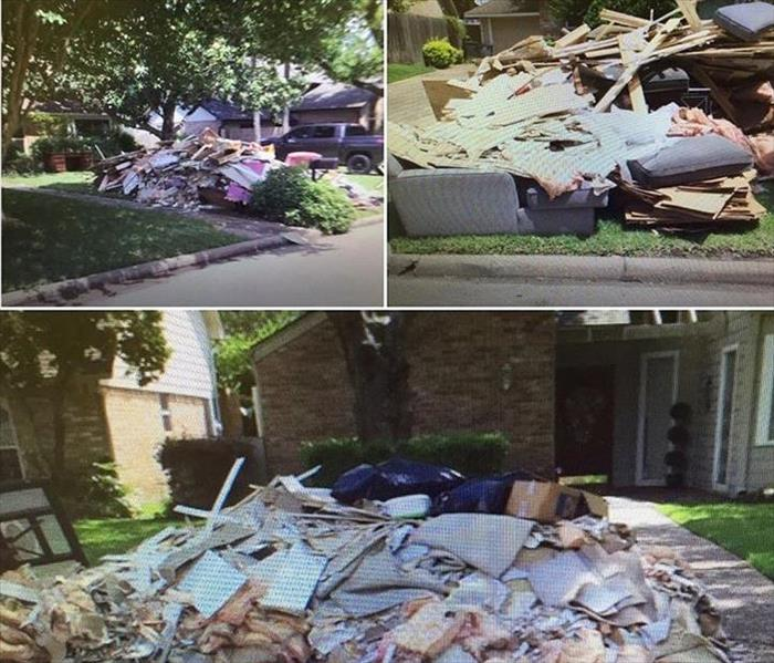 SERVPRO of Bellaire Helps Cypress, TX Cleanup After a Major Storm and Flooding